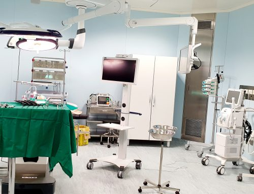 Blocul Operator Central al Spitalului Universitar, redeschis